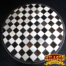 HR140-F HILASON HOME DECOR COWHIIDE HAIR ON LEATHER PATCHWORK ROUND RUGS CARPET