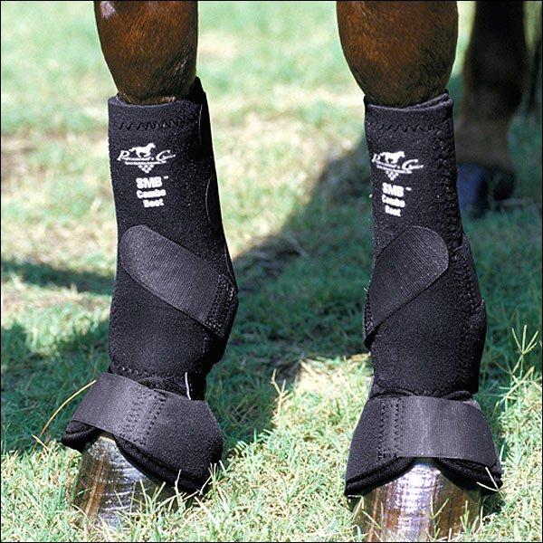 MEDIUM PROFESSIONAL CHOICE SMB HORSE LEG SPORTS MEDICINE COMBO BOOTS BLACK