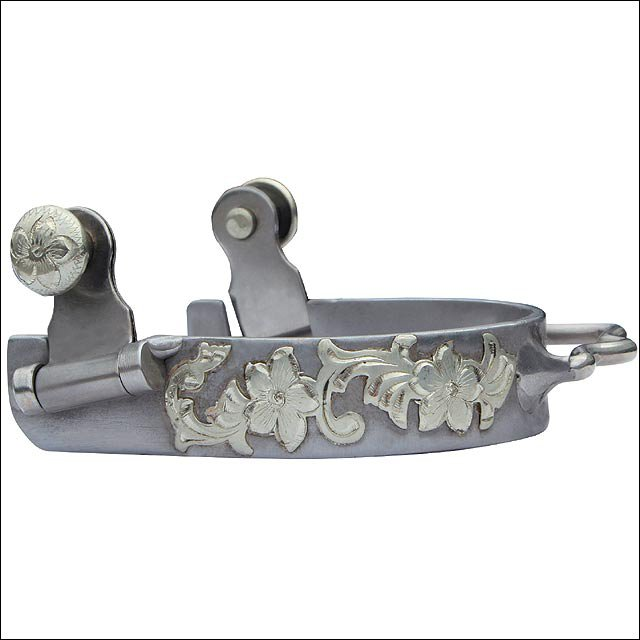 PROFESSIONAL CHOICE WESTERN FLORAL BUMPER SPUR