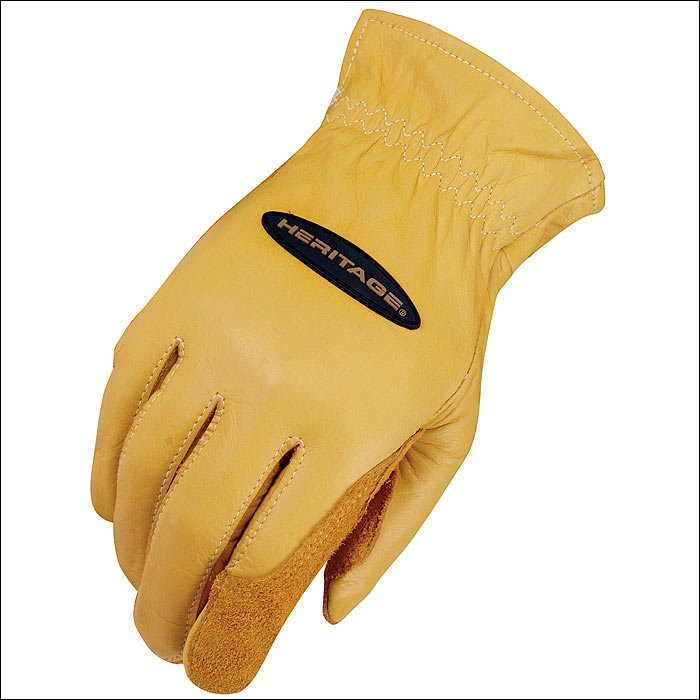 10 SIZE HERITAGE RANCH WORK GLOVES HORSE EQUESTRIAN