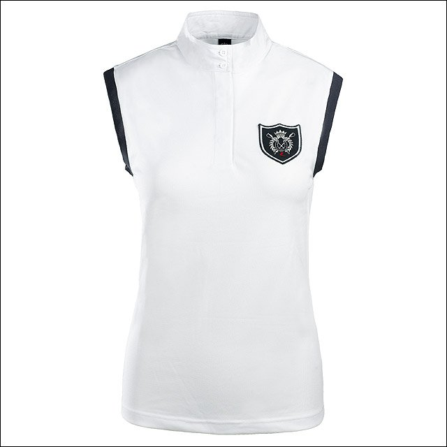 X LARGE HORZE COOL COMPETITION SLEEVELESS SHIRT TOP WOMEN LADIES RIDING WHITE