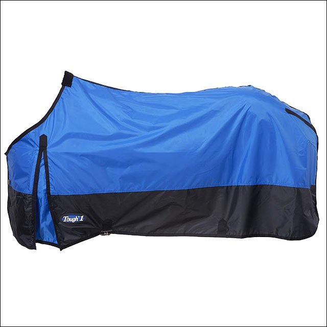 75 INCH BLUE TOUGH-1 420D POLY STABLE WINTER HORSE SHEET