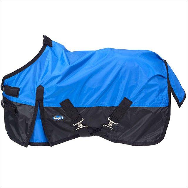 46 INCH BLUE TOUGH-1 420D WATERPROOF MINIATURE HORSE WINTER SHEET