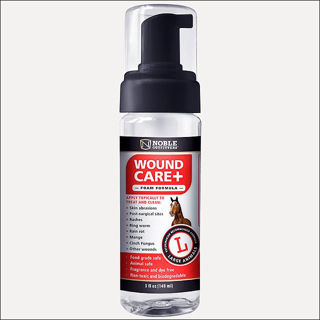 NOBLE OUTFITTERS NONTOXIC LARGE ANIMAL WOUND CARE SPRAY 5OZ
