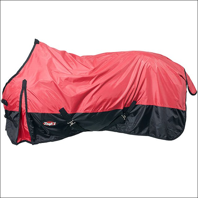 78 INCH RED TOUGH-1 420D WATERPROOF TACK HORSE WINTER SHEET