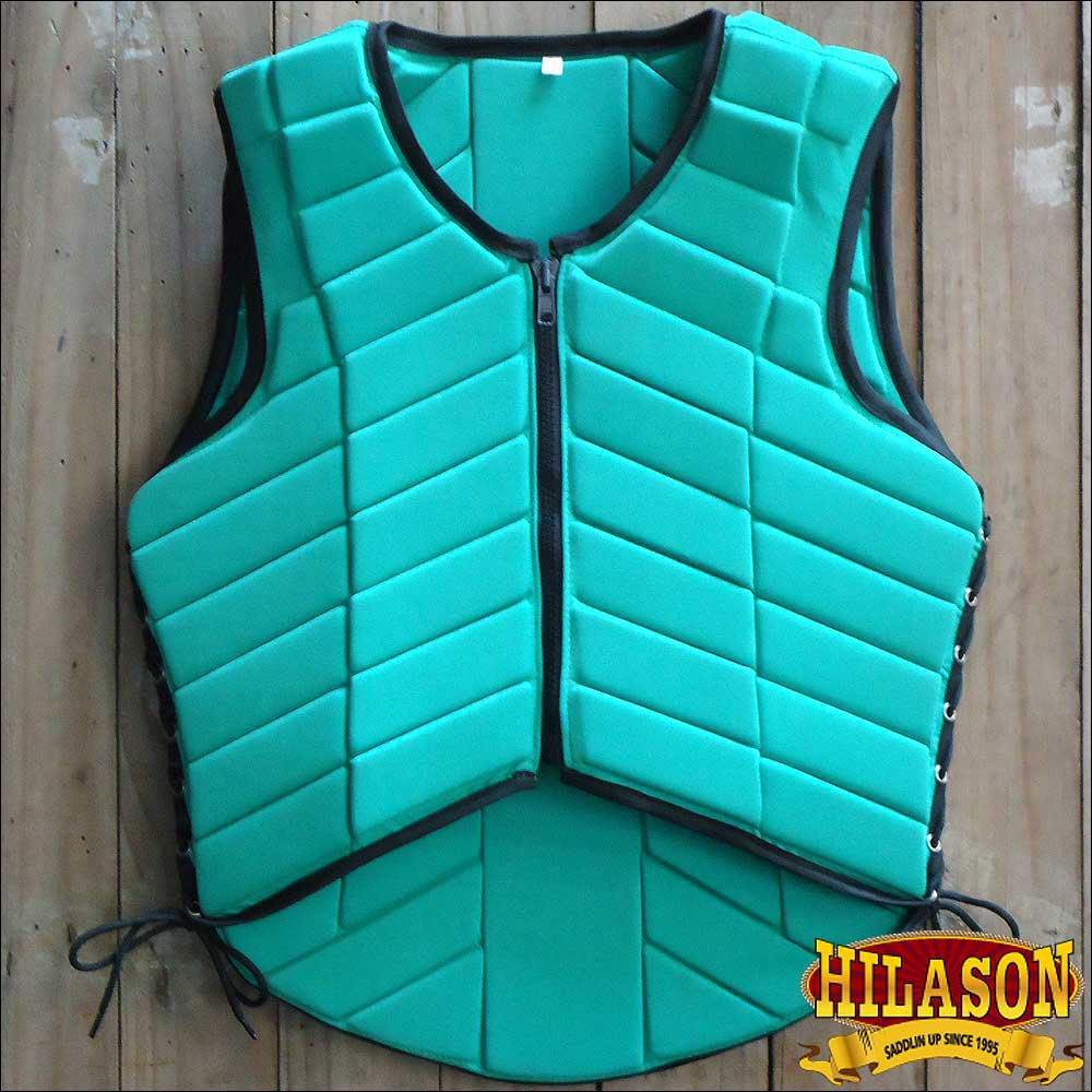 PV122-F HILASON ADULT SAFETY EQUESTRIAN EVENTING PROTECTIVE PROTECTION VEST XSML