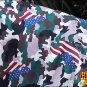 HILASON WINTER WATERPROOF POLY TURNOUT HORSE NECK WRAP USA FLAG CAMOUFLAGE