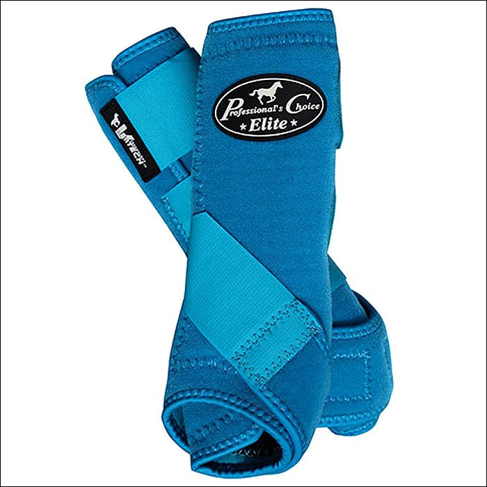 SMALL REAR PROFESSIONAL CHOICE VENTECH ELITE SPORTS MEDICINE BOOTS PACIFIC BLUE