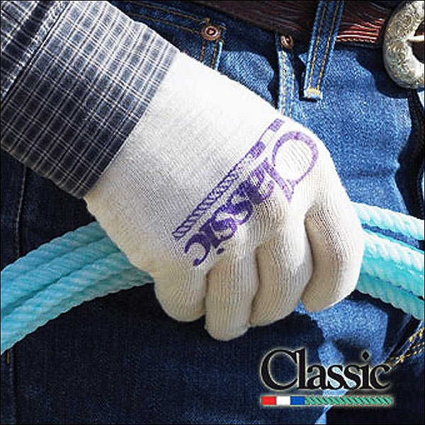 CLASSIC EQUINE DELUXE ROPING GLOVE COTTON