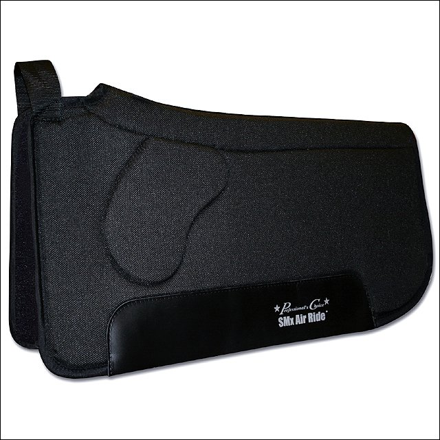 30X33 PROFESSIONAL CHOICE SMX AIR RIDE ORTHOSPORT HORSE FELT SADDLE PAD BLACK