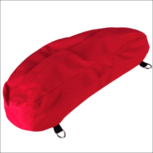 HILASON WESTERN TACK HORSE NYLON RED CANTLE BAG 600D