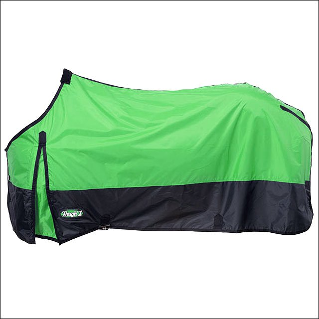 72 INCH NEON GREEN TOUGH-1 420D POLY STABLE WINTER HORSE SHEET