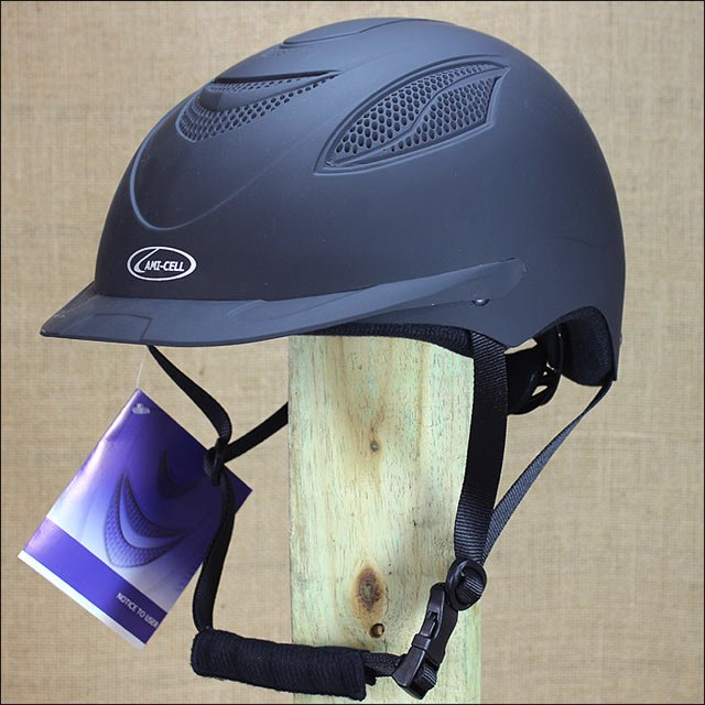 SMALL PARTRADE BLACK ULTRA LOW PROFILE CONTENDER RIDING HELMET