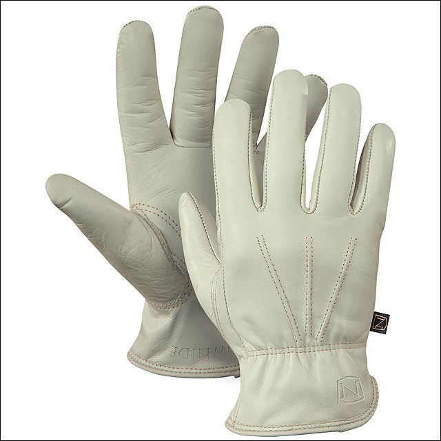 X LARGE NOBLE OUTFITTERS BREATHABLE LEATHER CHEYENNE COWSKIN GLOVE CREAM