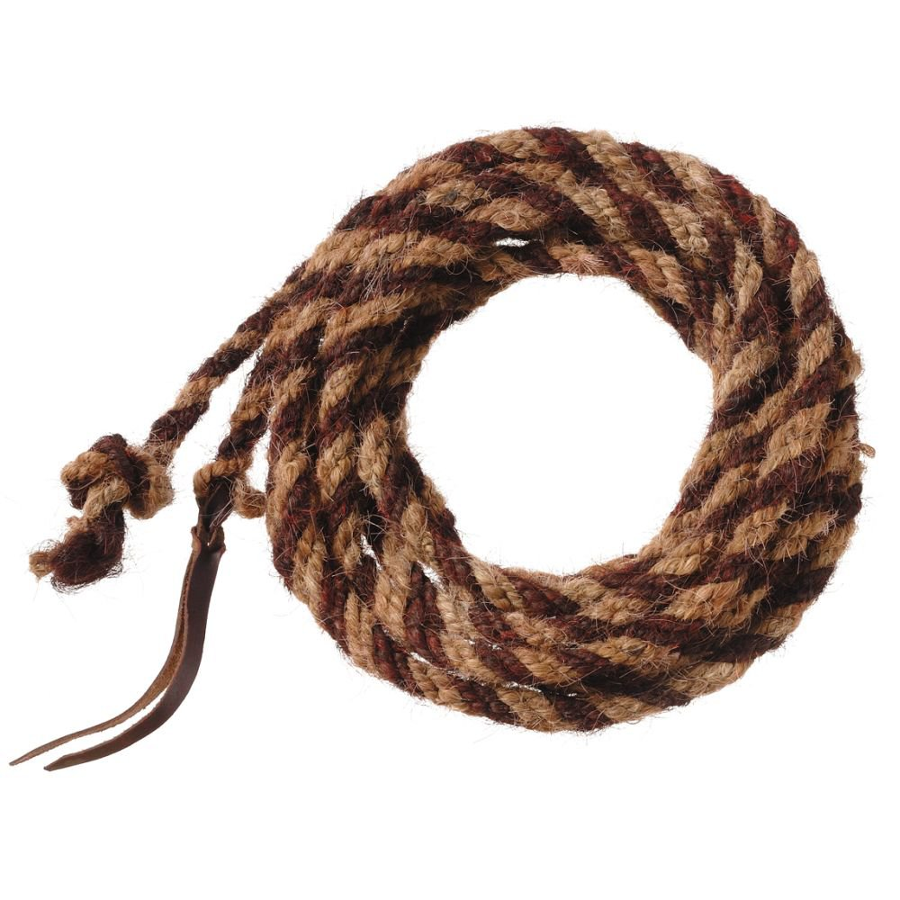 TOUGH 1 ROYAL KING HORSE HAIR MECATE ROPES TWO TONE