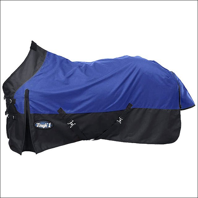 69 INCH NAVY BLUE TOUGH-1 1200D WATERPROOF TACK HORSE WINTER SHEET