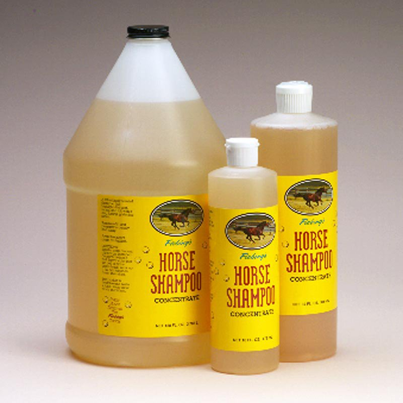 16OZ/32OZ/1GAL FIEBING'S THICK SCENTED CONCENTRATED HORSE SHAMPOO FOR MANE TAIL