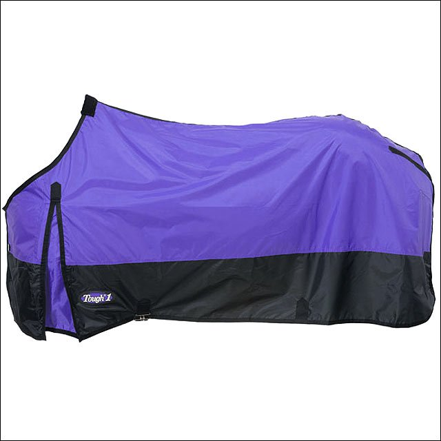 84 INCH PURPLE TOUGH-1 420D POLY STABLE WINTER HORSE SHEET