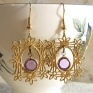 Gilded Portrait Earrings