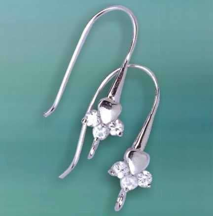 10 pari 925 Sterling Silver Earring Parts     Silver Jewelry     Jewelry Findings
