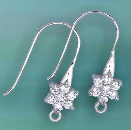 925 Sterling Silver Earring Parts     Silver Jewelry     Jewelry Findings