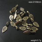 500pcs/packJewelry pendant bail, brass,21X8mm,hole:5X6.5mm,ID4172