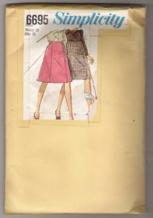 Misses' Set of Skirts Simplicity Sewing Pattern #6695