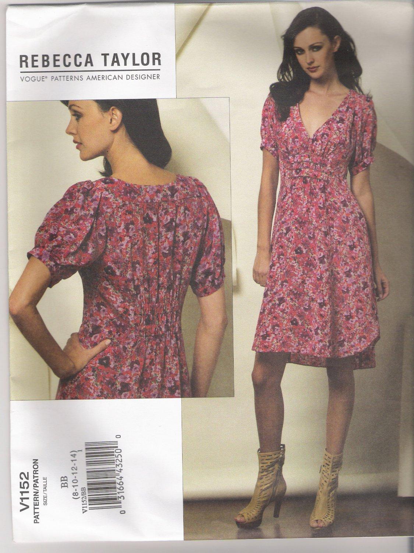 Misses' Dress Vogue #V1152 Sewing Pattern