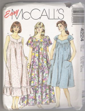 Misses' Dresses McCall's #4224 Sewing Pattern