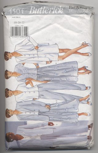 Misses' / Misses' Petite Jacket, Top, Skirt, Shorts  Pants Butterick #4504 Sewing Pattern