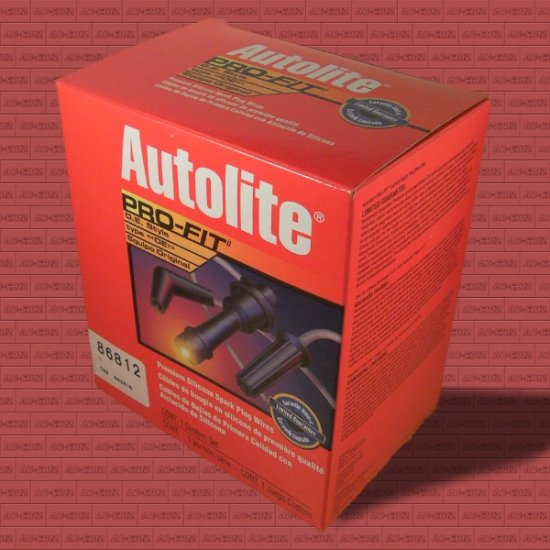 Autolite 86812 Silicone Spark Plug Ignition Wires