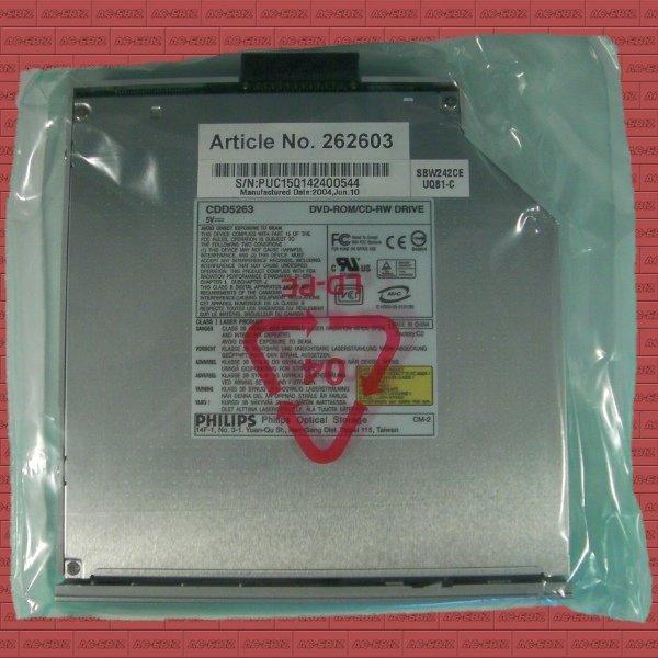 Philips CDD5263 SBW242CE Slim CD-RW DVD-ROM Drive - NEW