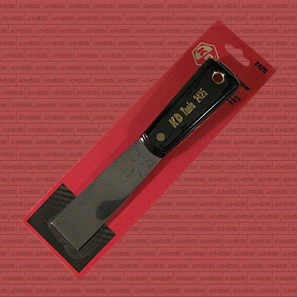 """KD Tools 2425 Tempered Steel 1-1/4"""" Scraper Tool / Putty Knife"""