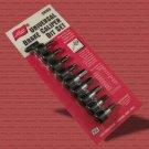 Lisle 29150 Universal Brake Caliper Bit Set - 9 Sizes