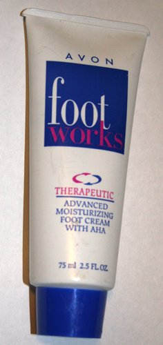 Foot Works Therapeutic Foot Cream with AHA