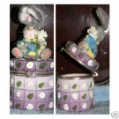 "Bunny Trinket Box 6"" Tall"