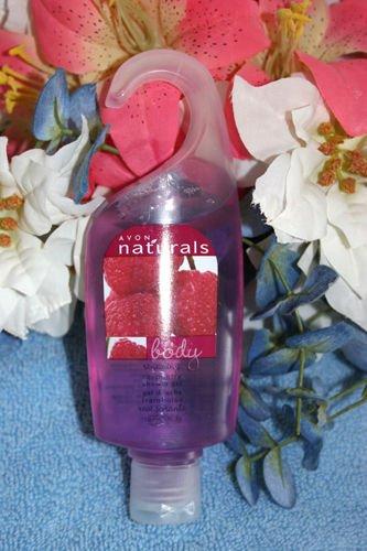 Avon Naturals Raspberry  Shower Gel 5.0 fl oz New