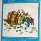 "Little Rascals Counted Cross Stitch Kit 7"" x 5"" Janlynn"