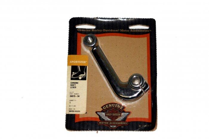 Harley Sportster Chrome Shift Pedal/Lever P/N# 34615-94