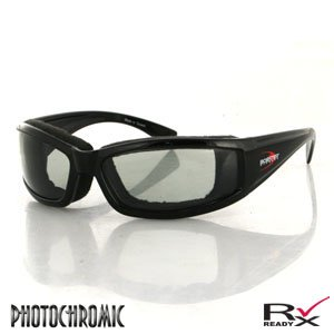 BOBSTER INVADER SUNGLASSES PHOTOCHROMIC LENS BLACK FRAM