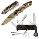 CAMPER'S KIT FOLDING POCKET KNIFE SET/MULTI-TOOL