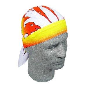ZAN FLYDANNA HEAD WRAP/DOO RAG/SKULLCAP FIRE BIRD