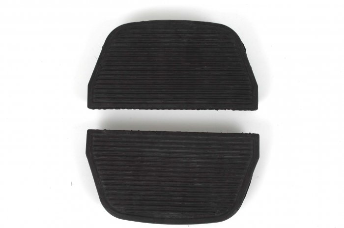 HARLEY PASSENGER FLOORBOARD INSERTS/RUBBERS TOURING
