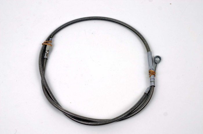 STAINLESS STEEL BRAIDED CLUTCH CABLE HARLEY 883/XL/HUGG