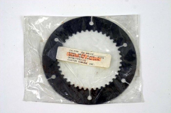 STEEL DRIVE PLATE HARLEY SPORTSTER/K-MODELS VINTAGE