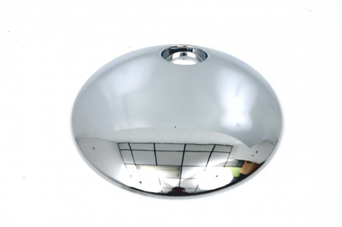 HARLEY CHROME GAS LID DASH DOOR COVER ELECTRA/TOURING