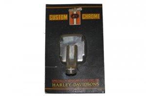 HARLEY CUSTOM CHROME BRACKET, HANDLE LEVER SPORTSTER