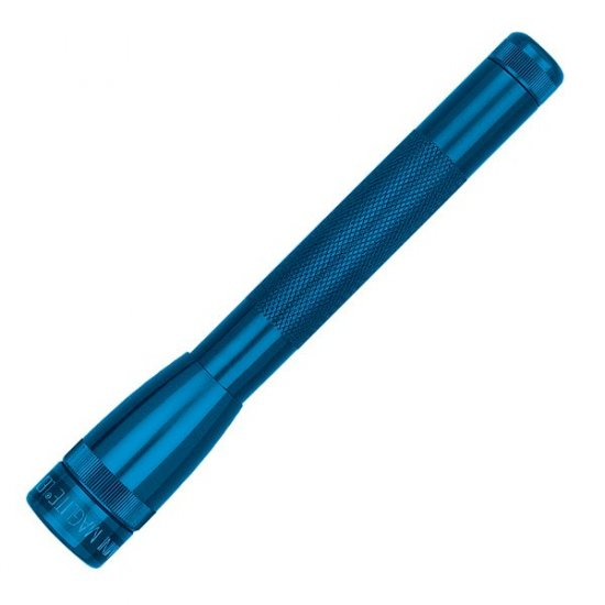 MAGLITE MINIMAG LED AA BLUE FLASHLIGHT