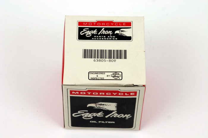 BLACK LONG OIL FILTER FOR HARLEY EVO/BIG TWIN