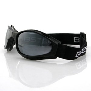 BOBSTER CROSSFIRE SMALL FOLDING GOGGLES SMOKE LENS
